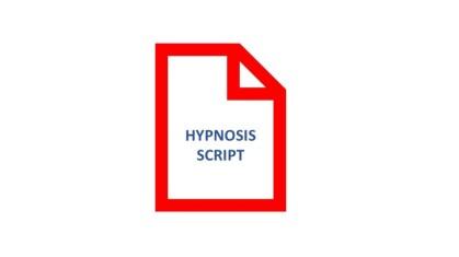 Hypnosis script